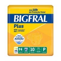 FRALDA GERIÁTRICA BIGFRAL PLUS P 10 UNID