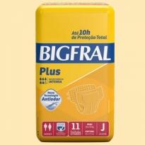 FRALDA GERIÁTRICA BIGFRAL PLUS J 11 UNID