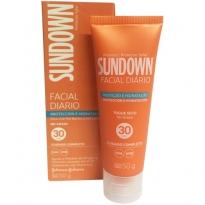 Protetor Solar Facial Diário Sundown FPS 30 50g