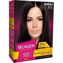 Salon Line Selagem Redutora Cabelos Ondulados e Volumosos 198ml