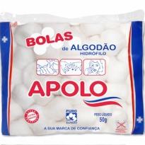 ALGODÃO BOLAS APOLO 50GR