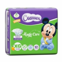 Fralda CREMER Magic Care XG c/ 20 Unidades