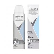 DESODORANTE AEROSOL REXONA CLINICAL S/ PERFUME 150ML