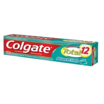 Gel Dental Colgate Total 12 Advanced Fresh com 90g