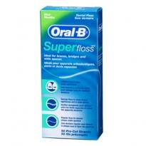 Fio Dental Oral-B Super Floss com 50 Unidades