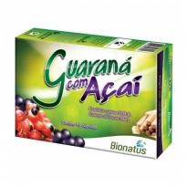 Guarana com Açai Bionatus com 45 Capsulas