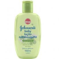 Loção Antimosquito Infantil Johnson's Hora de Brincar 100ml