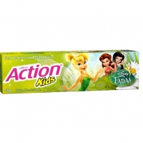 Gel Dental Ultra Action Kids Fadas Sabor Morango 50g