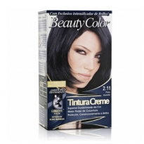 Tintura Creme Beauty Color 2.11 Preto Azulado
