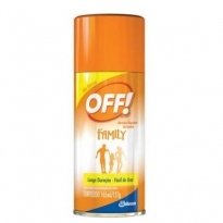 REPELENTE DE INSETOS OFF! AEROSOL 165ML
