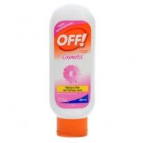 Loção Repelente de Insetos Off! Cosmetics com 117ml