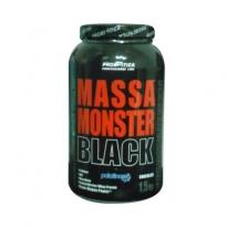 Massa Monster Black Probiotica Sabor Chocolate com 1,5kg