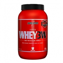 Super Whey 3W Integralmedica Sabor Chocolate com 907g