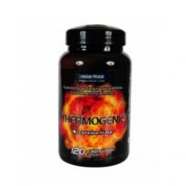 Thermogenic Cafeína Pura Probiotica com 120 Capsulas
