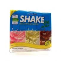 Shake Redubio 0% de Lactose Sabor Morango Baunilha e Chocolate com 840g