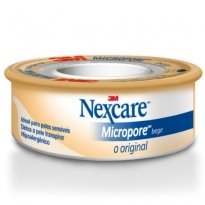Micropore Nexcare Bege 12mm x 4,5m