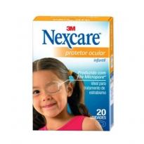 Protetor Ocular Nexcare Adulto 20 Unidades