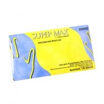 Luva de Latex com Pó Bioabsorvível SuperMax 100 unid. G