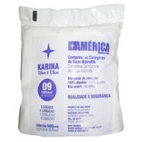 COMPRESSA CIRÚRGICA DE GAZE 7,5X7,5 KARINA 500 UNID