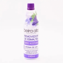 Removedor de Esmaltes Beira Alta sem acetona 240ml