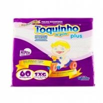 FRALDA TOQUINHO PLUS TAM SXG 60 UNID