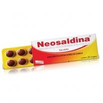 Neosaldina caixa 20 drágeas