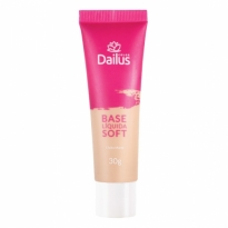 Dailus Base Líquida Soft 30g Cor 04 Bege Claro