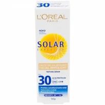 Protetor Solar Facial Diário Invisilight Loreal Paris Solar Expertise FPS 30 50g