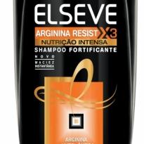 Shampoo Elseve Arginina Resist X3 Nutrição Intensa 200ml