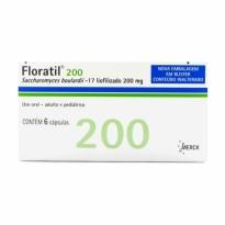 Floratil 200 mg 6 cápsulas