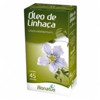 Oleo de Linhaça Bionatus com 45 Capsulas