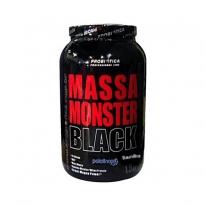 Massa Monster Black Probiotica Sabor Baunilha com 1,5kg
