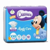 Fralda CREMER Magic Care XXG c/ 16 Unidades