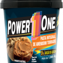 Power1One Pasta Integral de Amendoim Torrado 1KG