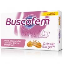 Buscofem 400 mg com 10 cápsulas