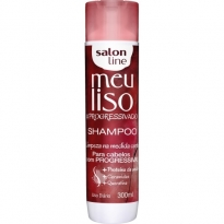 SHAMPOO MEU LISO #PROGRESSIVADO Salon Line 300ml