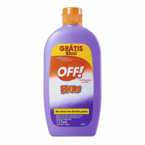 LOÇÃO REPELENTE OFF! KIDS 117ML