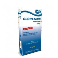 Cloratadd 10mg com 12 Comprimidos