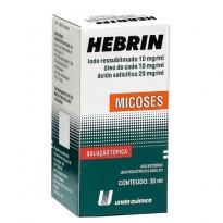 Hebrin Solução Com 30ml