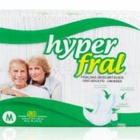 Hyperfral M com 50 fraldas