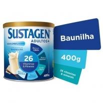 SUSTAGEN ADULTOS+ BAUNILHA 400G