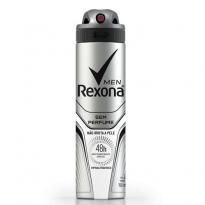 DESODORANTE AEROSOL REXONA MEN S/ PERFUME 150ML