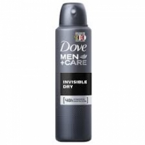 DESODORANTE AEROSOL DOVE MEN CARE INVISIBLE DRY 150ML