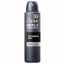 Desodorante aerosol Dove Men Care Invisible Dry 150 ml