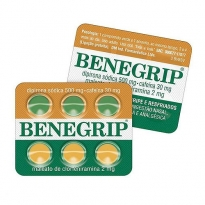Benegrip Blister com 6 comprimidos