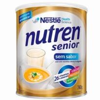 SUPLEMENTO ALIMENTAR NUTREN SENIOR S/ SABOR 740GR