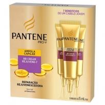 Ampola Pantene BB Cream Rejuvene-7 com 3 unidades