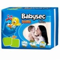 Fralda BabySec UltraProtect Jumbo P c/ 32 unidades