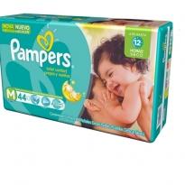 Fralda Pampers Total Confort Mega M c/ 44 unidades