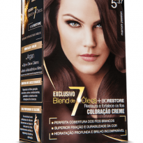 TINTURA CREME BEAUTY COLOR 5.37 MARROM PASSION